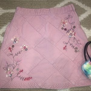 NEXT UK gorgeous, high-end pink detailed skirt 8